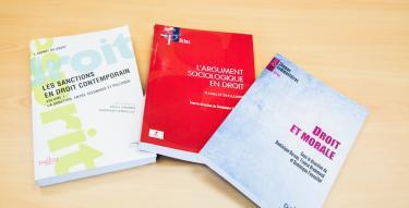 Laboratoire de sociologie juridique, ouvrages