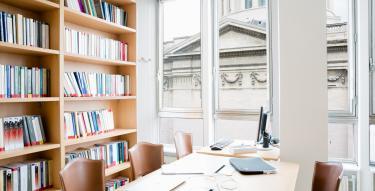 Laboratoire de sociologie juridique, salle de travail